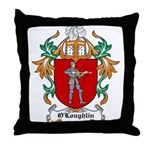 O'Loughlin Coat of Arms Throw Pillow