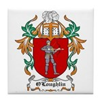O'Loughlin Coat of Arms Tile Coaster