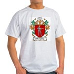 O'Loughlin Coat of Arms Ash Grey T-Shirt