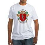 O'Loughlin Coat of Arms Fitted T-Shirt