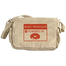 Music Professor Powered by Doughnuts Messenger Bag
