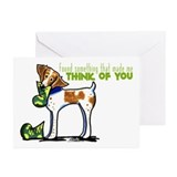 Brittany I Miss You Greeting Cards (Pk of 20)