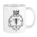 Vintage Queen Bee Small Mug