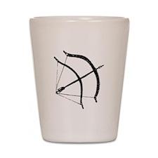 DH Bow Shot Glass