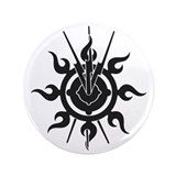 "Acheron Symbol 3.5"" Button"