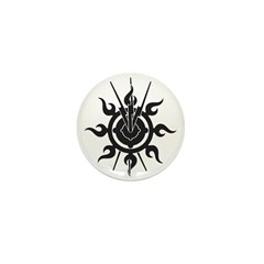 Acheron Symbol Mini Button
