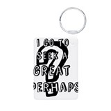 The Great Perhaps Aluminum Photo Keychain