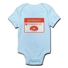 Journalist Powered by Doughnuts Infant Bodysuit