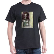Chest Parrot Black T-Shirt