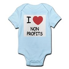 I heart nonprofits Infant Bodysuit