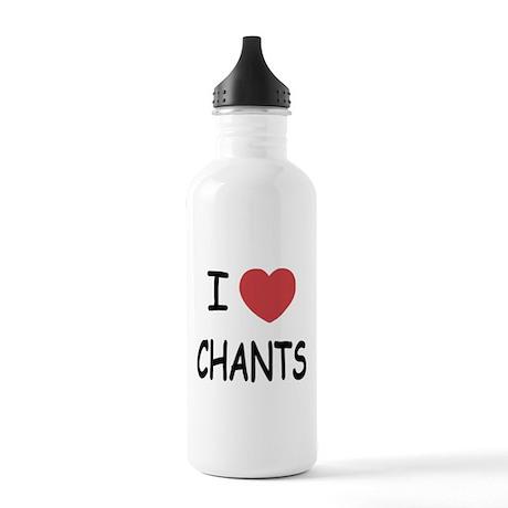 I heart chants Stainless Water Bottle 1.0L