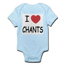 I heart chants Infant Bodysuit