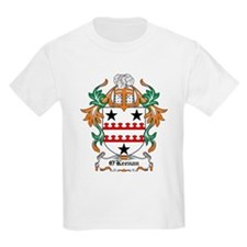 'Keenan Coat of Arms Kids T-Shirt