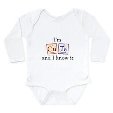 Unique Chemist Long Sleeve Infant Bodysuit