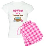 Loved By Devon Rex Cat pajamas