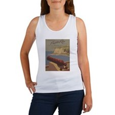 Discover Puerto Rico Travel poster Women's Tank To