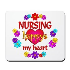 Nursing Happy Mousepad