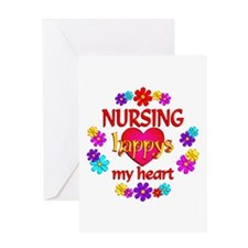 Nursing Happy Greeting Card