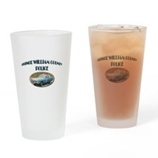 Prince William Police Drinking Glass