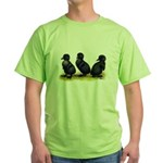 Cayuga Ducklings Green T-Shirt