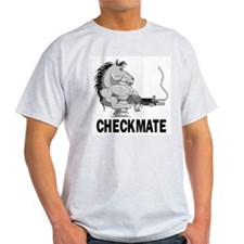 Checkmate Ash Grey T-Shirt