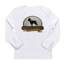 Boston Terrier Long Sleeve Infant T-Shirt