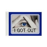 OUT cover Rectangle Magnet (10 pack)