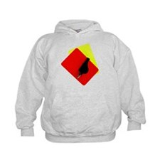 red and yellow card Hoodie
