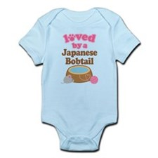 Loved By Japanese Bobtail Cat Infant Bodysuit