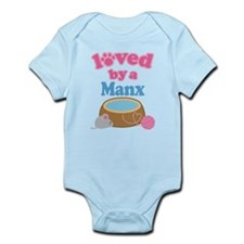 Loved By A Manx Infant Bodysuit