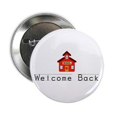 "Welcome Back 2.25"" Button (10 pack)"
