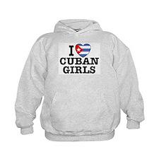 I Love Cuban Girls Hoodie