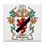 O'Hayland Coat of Arms Tile Coaster