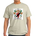 O'Hayland Coat of Arms Ash Grey T-Shirt