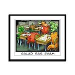 Salad Bar Exam Framed Panel Print