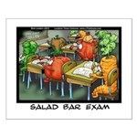 Salad Bar Exam Small Poster