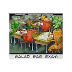 Salad Bar Exam Throw Blanket