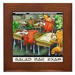 Salad Bar Exam Framed Tile