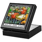 Salad Bar Exam Keepsake Box