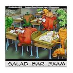 Salad Bar Exam Tile Coaster