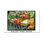 Salad Bar Exam Car Magnet 20 x 12