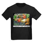 Salad Bar Exam Kids Dark T-Shirt