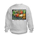 Salad Bar Exam Kids Sweatshirt