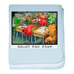 Salad Bar Exam baby blanket