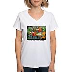 Salad Bar Exam Women's V-Neck T-Shirt