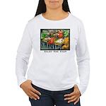 Salad Bar Exam Women's Long Sleeve T-Shirt