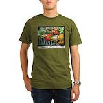 Salad Bar Exam Organic Men's T-Shirt (dark)