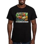 Salad Bar Exam Men's Fitted T-Shirt (dark)