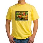 Salad Bar Exam Yellow T-Shirt