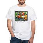 Salad Bar Exam White T-Shirt